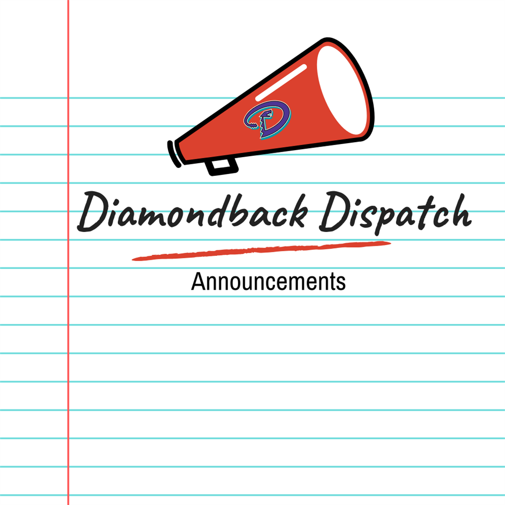 Diamondback Dispatch Announcements