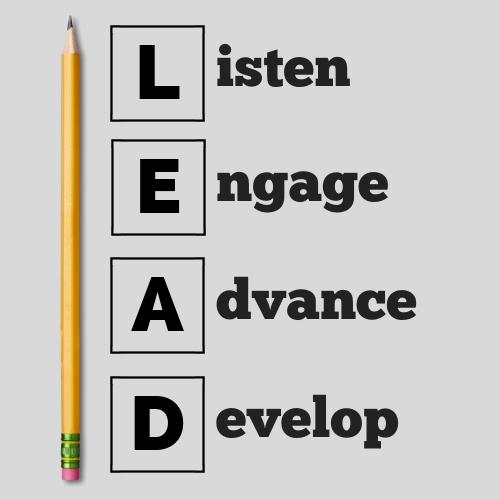 Listen - Engage - Advance - Develop