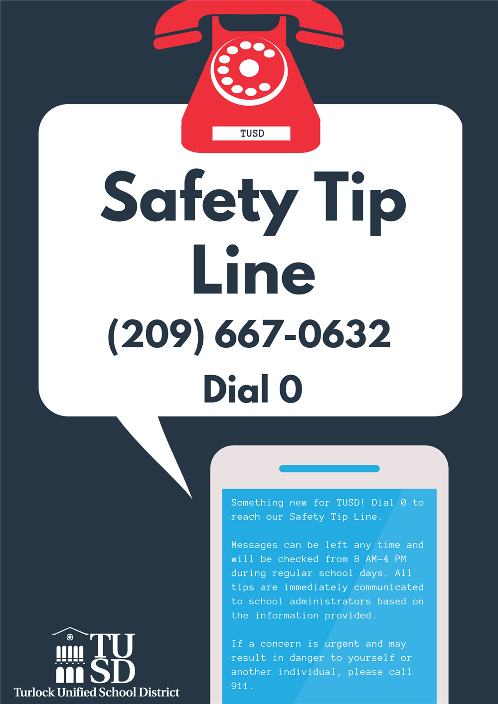 Safety Tip Line