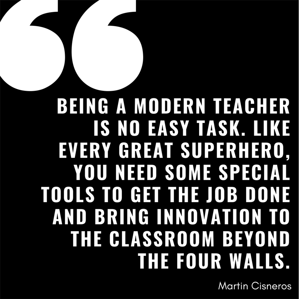 Being a Modern Teacher is No Easy Task.