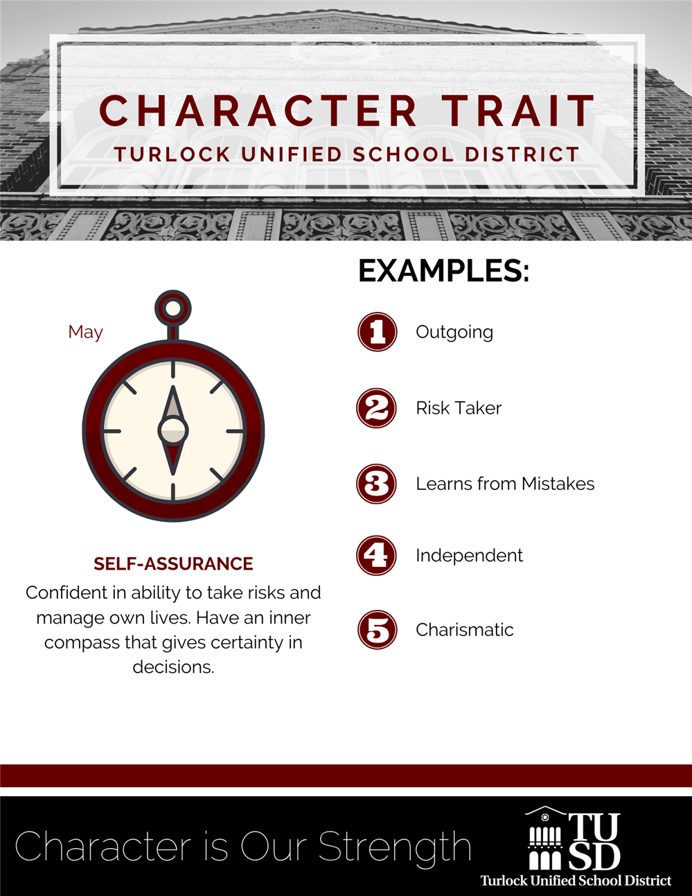 May Character Trait