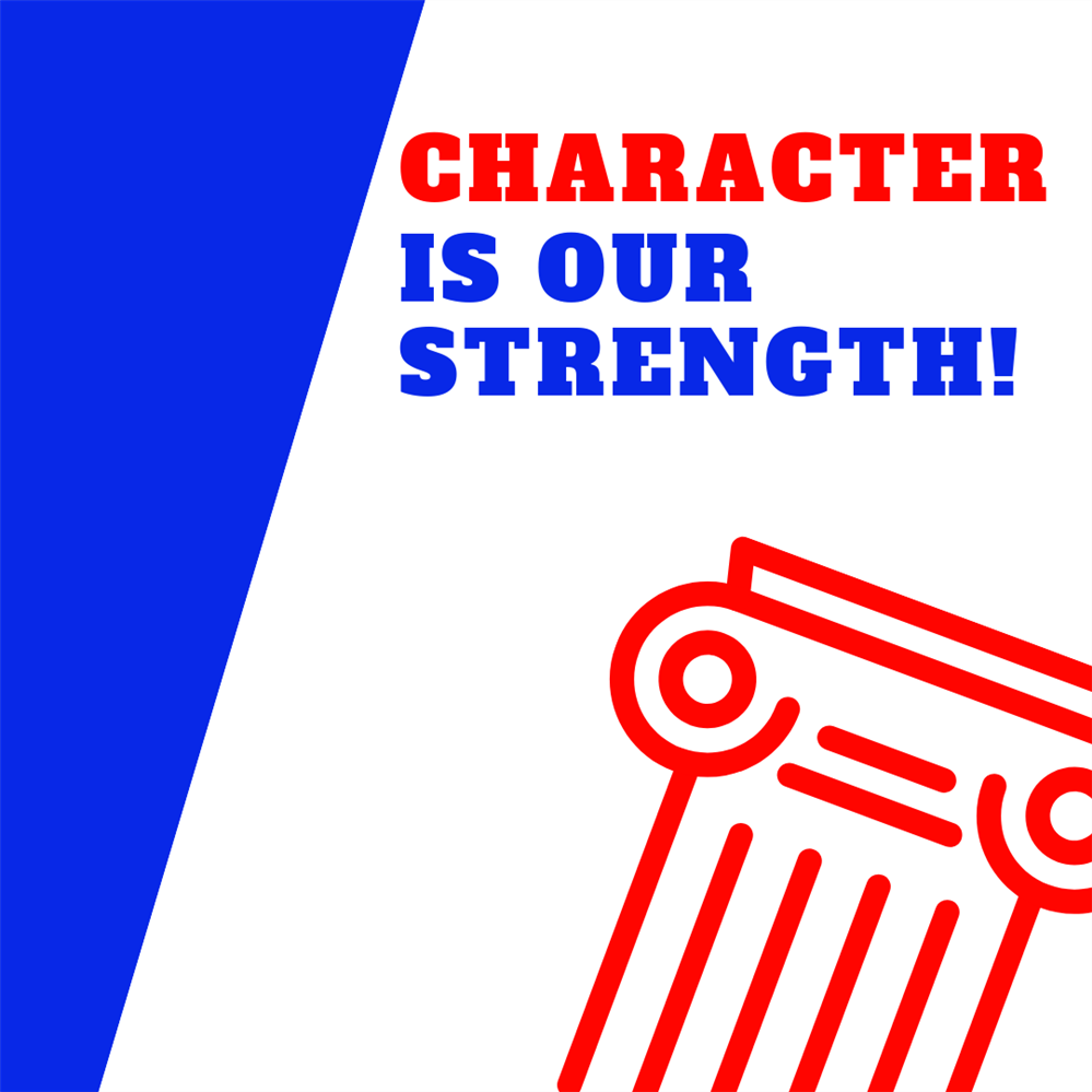 Character is Our Strength Logo