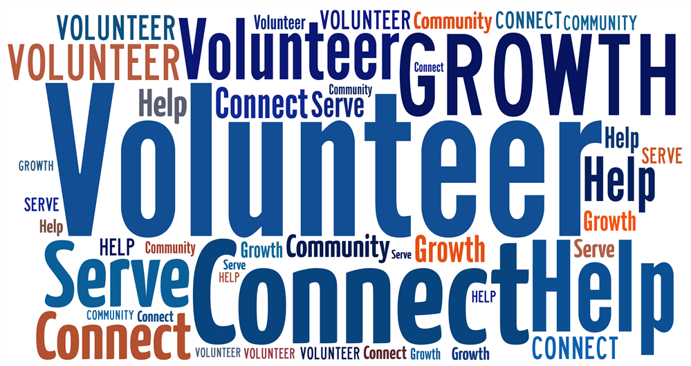 Volunteer Word Collage