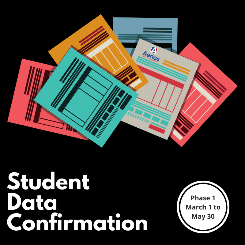 Student Data Confirmation